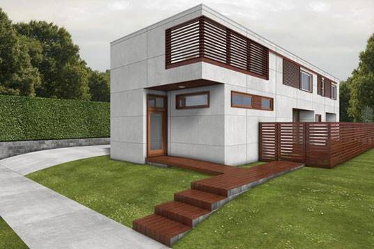 Exclusive Home Design House Brings Green Misa