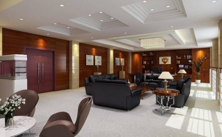Executive Office Interior Design Modern Ceo