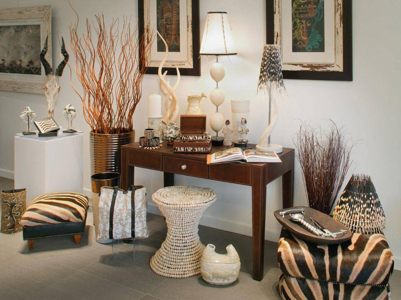 Exotic African Home Decor Ideas Caprice