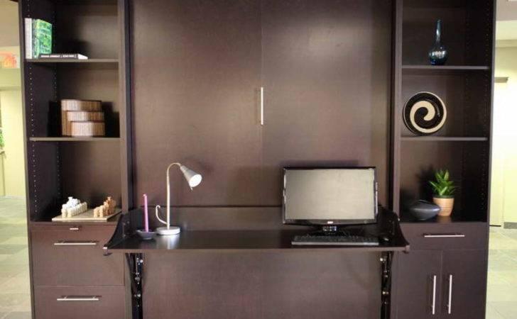 Expect Murphy Bed Desk Combo Floor Tiles