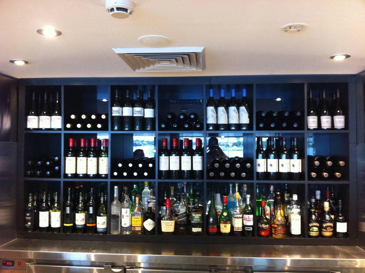 Expedit Back Bar Wine Display Ikea Hackers