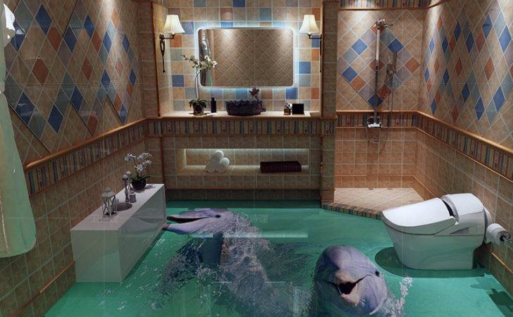 Export Cute Dolphin Floor Tiles Ceramic Tile Bathroom Kitchen