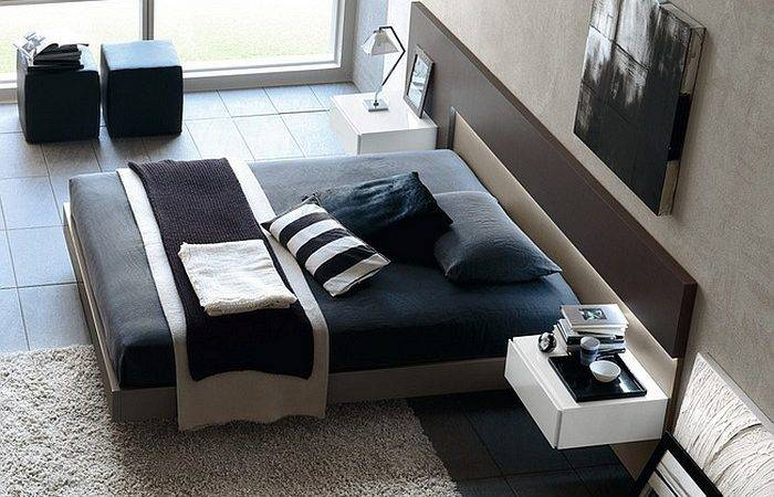 Exquisite Modern Bedroom Minimal Style Masculine Appeal
