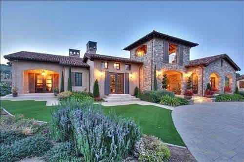 Exquisite Tuscan Estate Saratoga California Luxury Homes