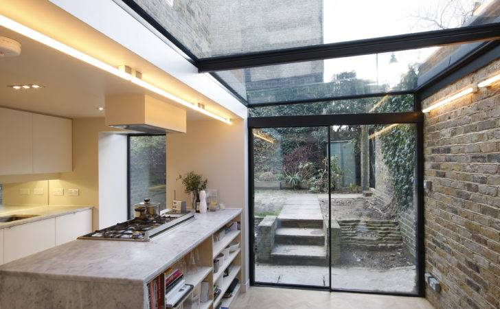Extension Google Kitchen Extensions Bungalow House