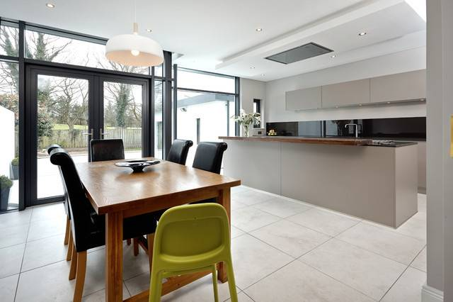 Extension Semi Detached House Bangor Northern Ireland Contemporary