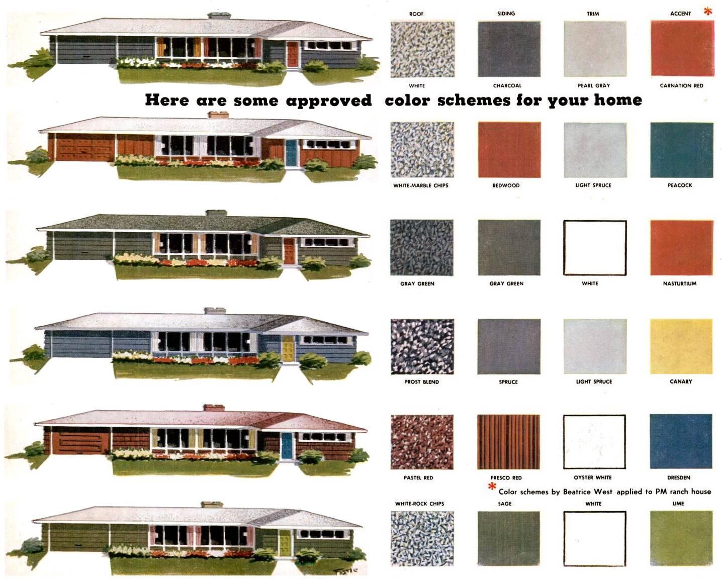 Exterior Mid Century Modern Color Palette Jpeg