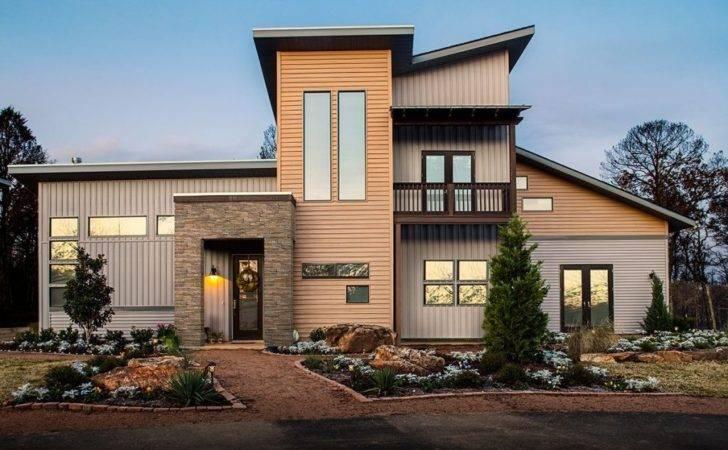 Exterior Stone Brick Veneer Can Work Surprisingly Well Modern