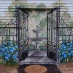 Exterior Wall Mural Traditional Boston