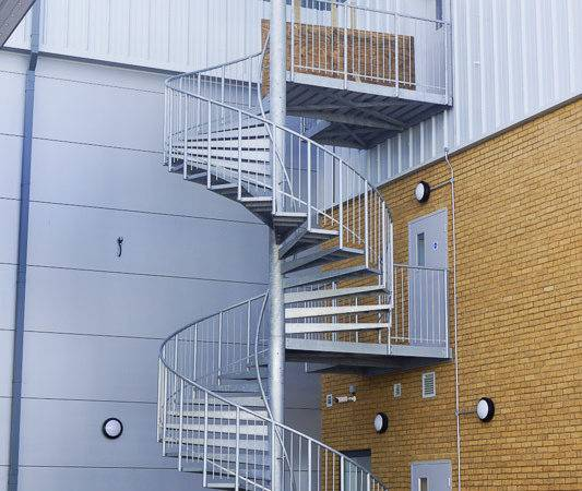 External Spiral Staircase Staircases
