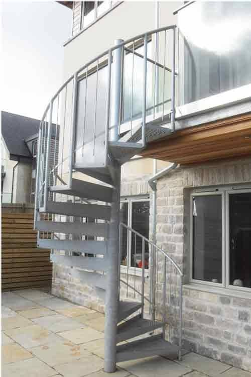 External Spiral Stairs Kit Form Bespoke Projects