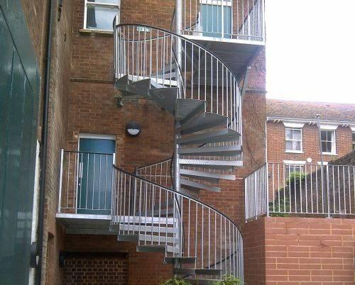 External Spiral Stairs Pinterest
