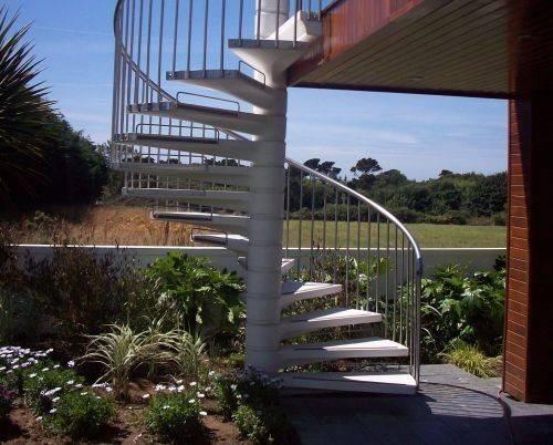 External Spiral Stairs