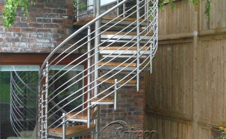 External Stairs Balustrades Spireco Spiral