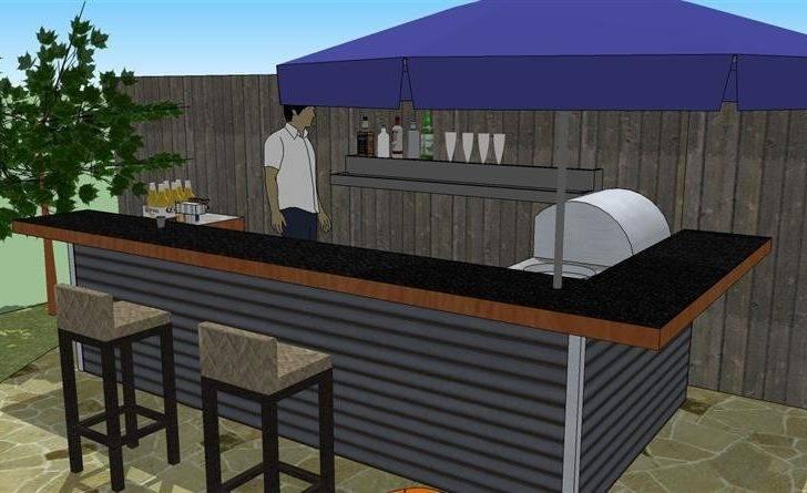 Eyc Glorious Homemade Bar Plans