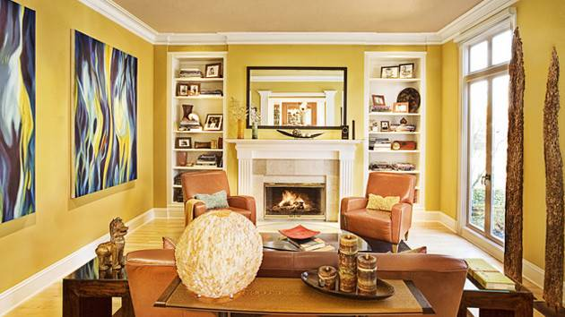 Fab Living Room Designs Yellow Accent Home Design Lover