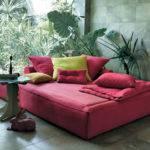Fabric Bed Garden Academy Piuma Sommier Twils