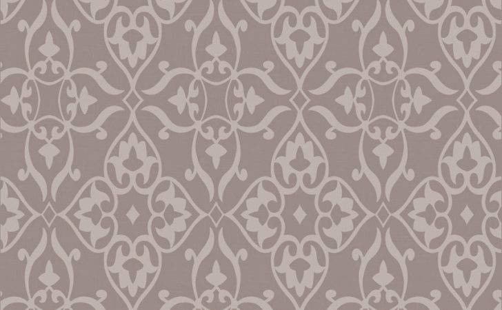 Fabric High Quality Flocking Wall Paper Modern Simple Design