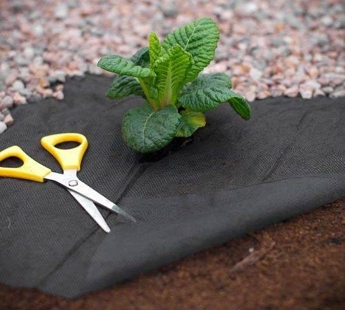 Fabric Strong Garden Membrane Ground Sheet Landscaping