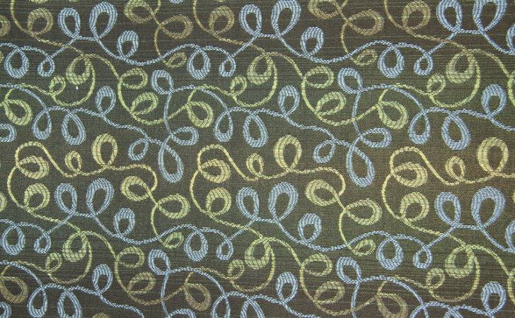 Fabric Texture Retro Swirls Brown Cloth Design