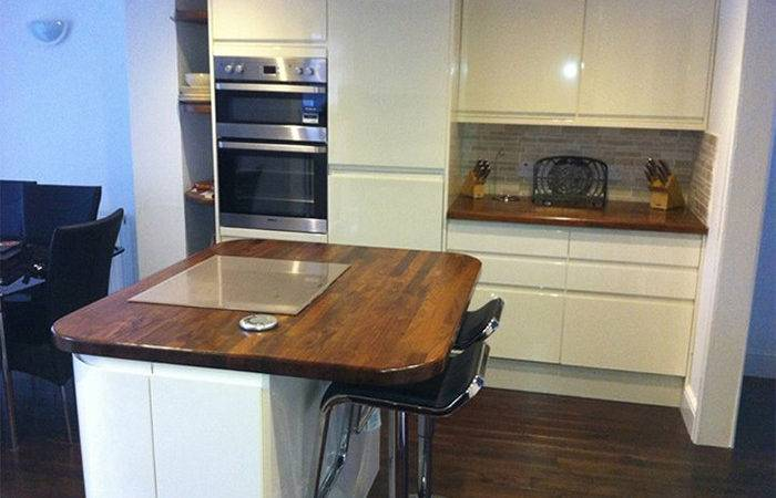 Fabricating Hardwood Worktops Kitchen Islands