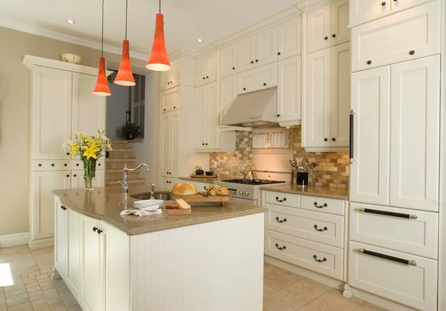 Fabulous Kitchens Traditional Kitchen Montreal Cuisines