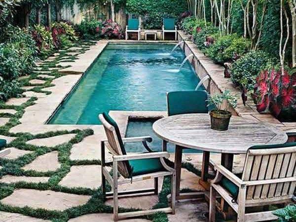 Fabulous Small Backyard Designs Swimming Pool Architecture