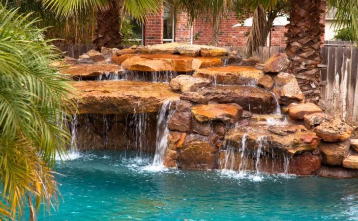 Fabulous Swimming Pools Waterfalls