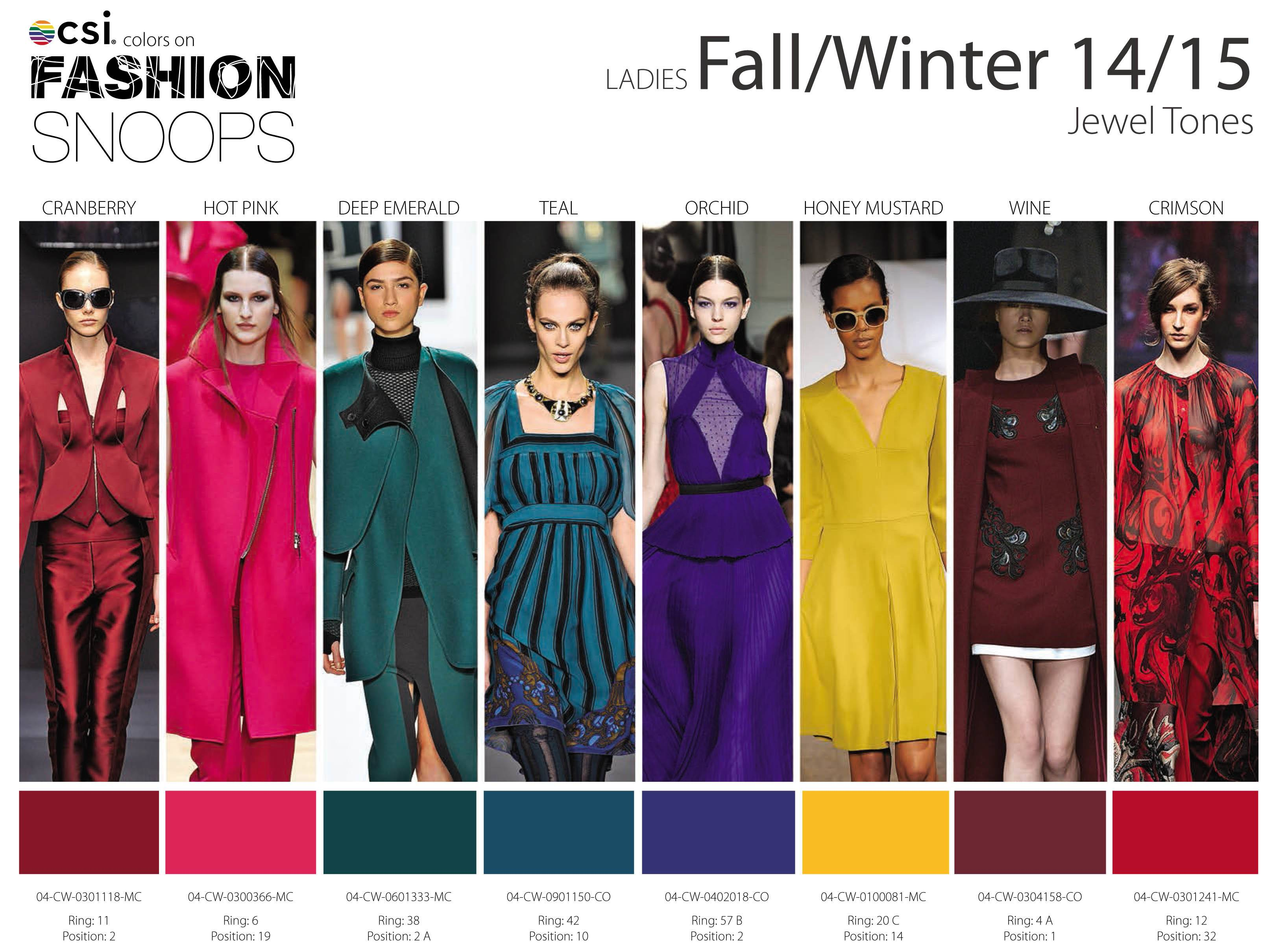 Fall Winter Runway Color Trends Nidhi Saxena Blog
