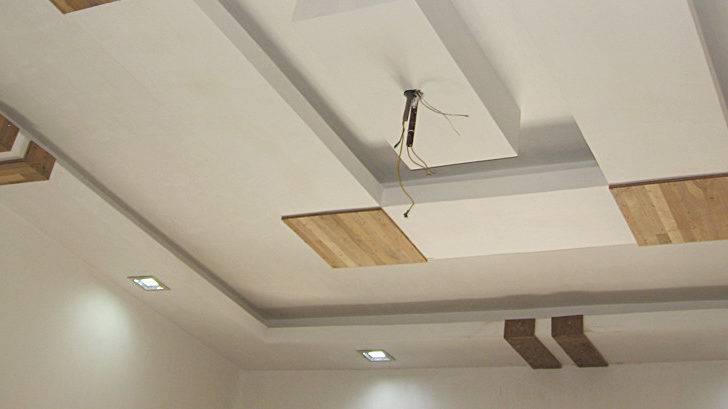 False Ceiling Fan Installation Ceilingfan