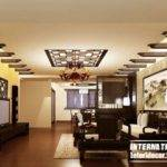 False Ceiling Living Room Pop Design