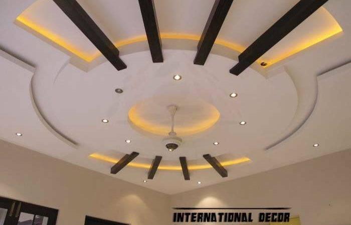 False Ceiling Pop Design Led
