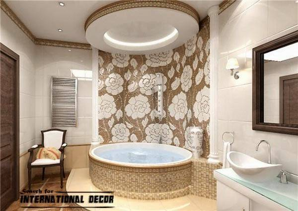 False Ceiling Pop Designs Bathroom Ideas Contemporary Bathrooms