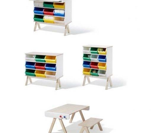 Familie Garage Modern Kids Furniture System Richard Lampert
