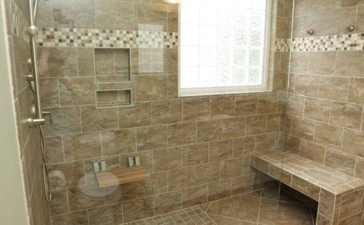 Fancy Bathroom Corner Walk Steam Shower Built