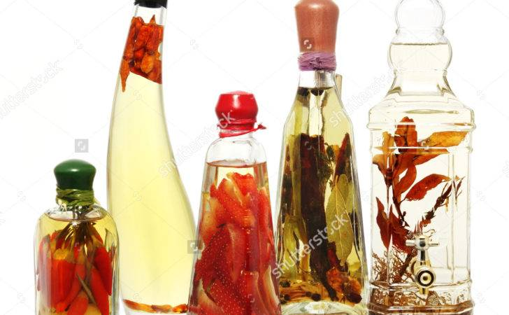 Fancy Bottles Infused Oils Vinegars Infusions Include Chili