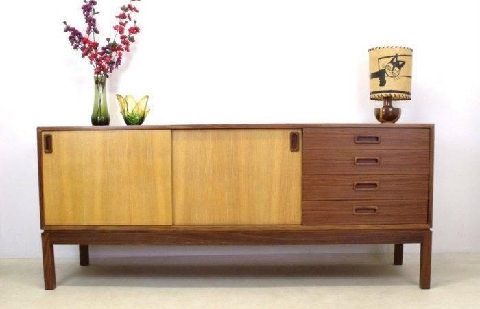 Fancy Furniture Retro Design Real Wood Dresser