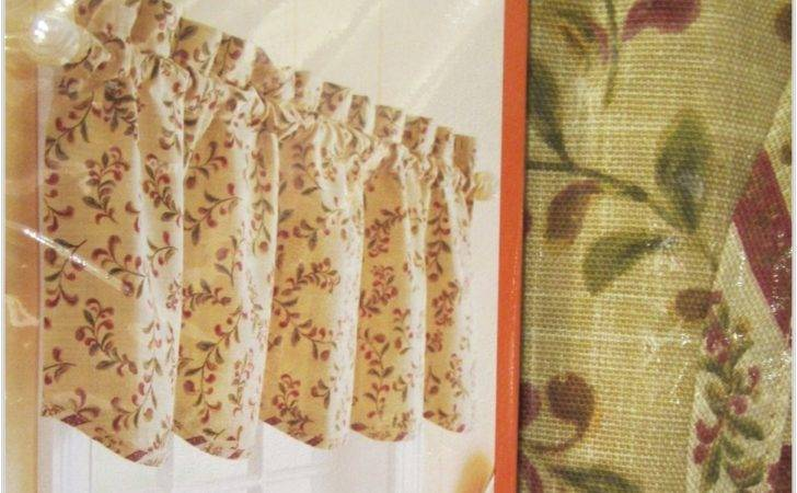 Fancy Kitchen Curtain Valance Tuscan Curtains Valances