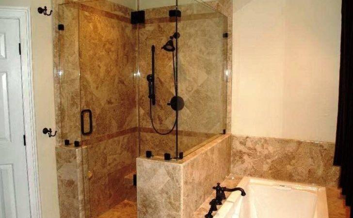Fancy Small Walk Shower Ideas Along Inexpensive Lotusep