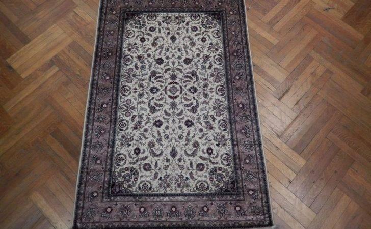 Fancy Tone Traditional Handmade Silk Rug High End Ebay