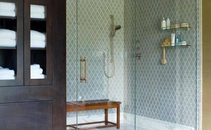 Fancy Walk Shower Room Design Magnificent