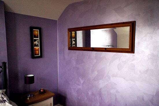 Fantasia Finishes White Paint Feature Wall South West