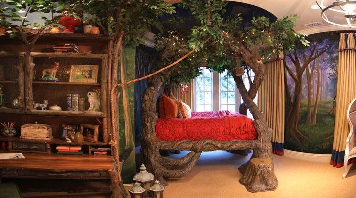 Fantasy Themed Bedroom Guest Room Bedrooms Kids