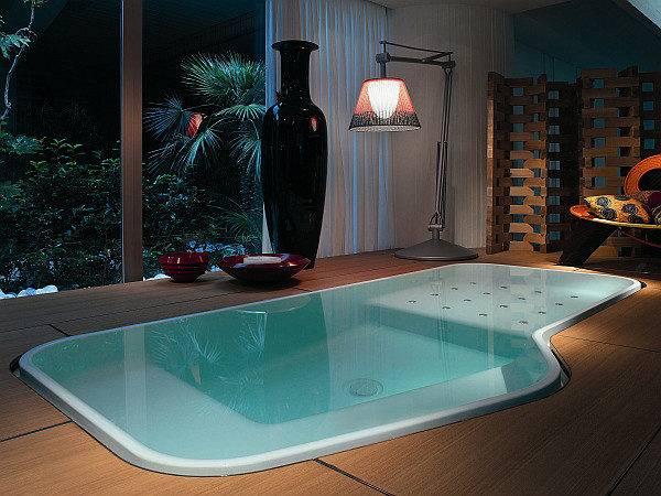 Faraway Indoor Pool Spa Decoist