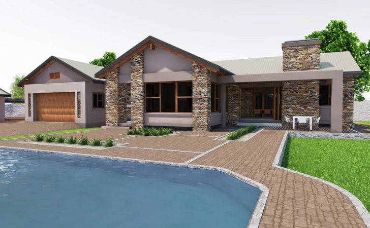 Farm House Plan South Africa Contemporary Timber Stone