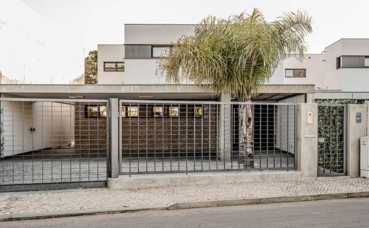 Fascinate Modern Fence Design Noticeable Idea Using White