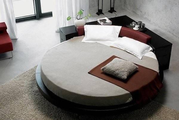 Fashionable Round Platform Beds Home Design Lover