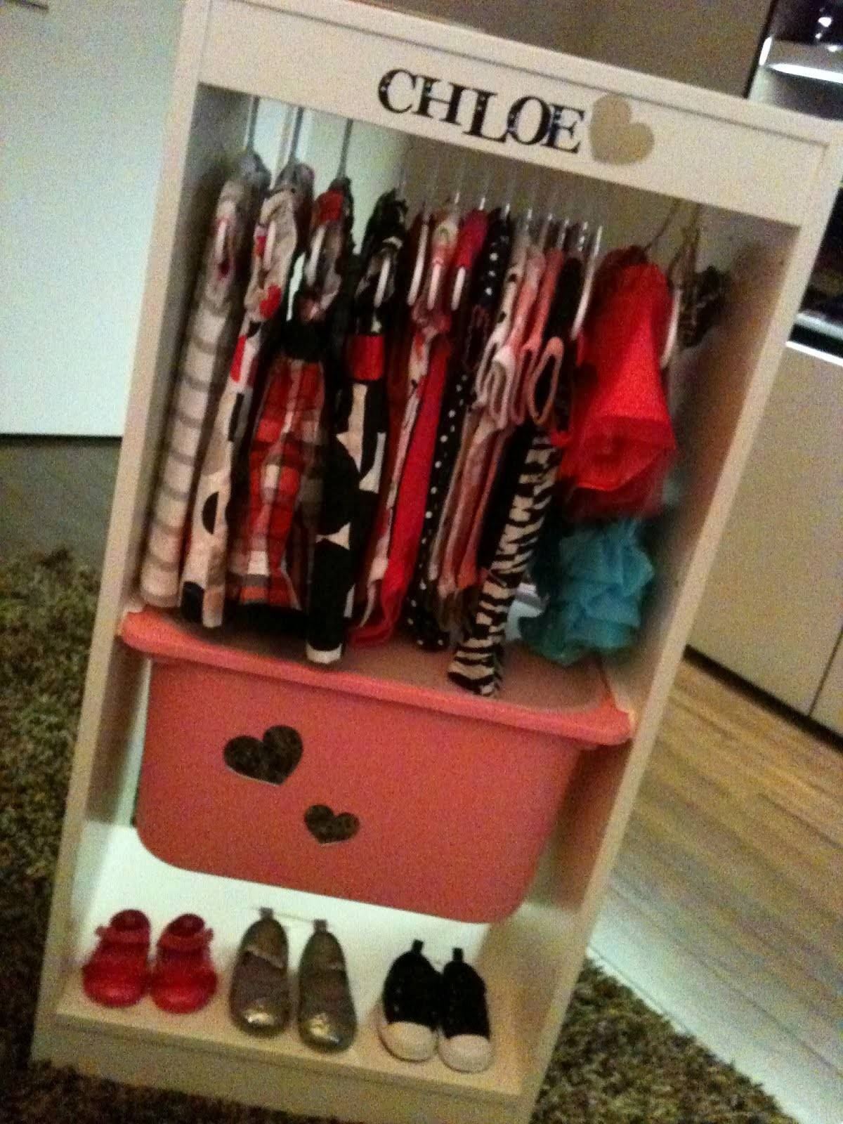 Fashionista Wardrobe Baby Shower Gift Ikea Hackers