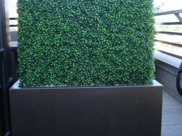 Faux Boxwood Hedge