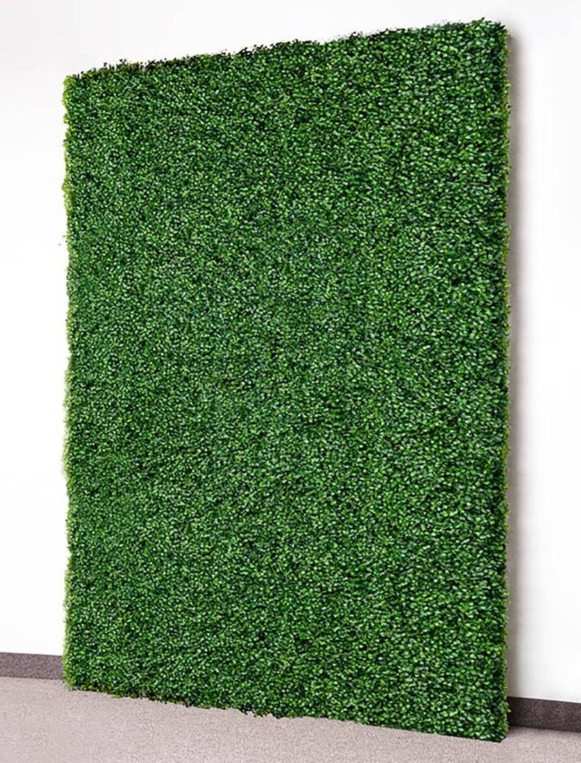Faux Boxwood Wall Event Rental